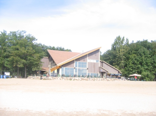 The Service Centre at Oka Park Beach
